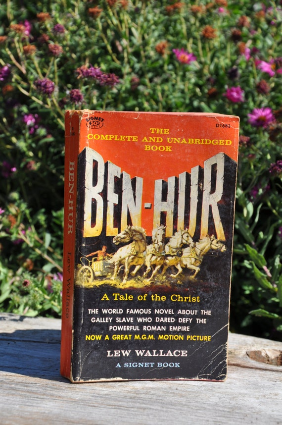 Ben Hur A Tale Of The Christ By Lew Wallace Signet 1959 Etsy