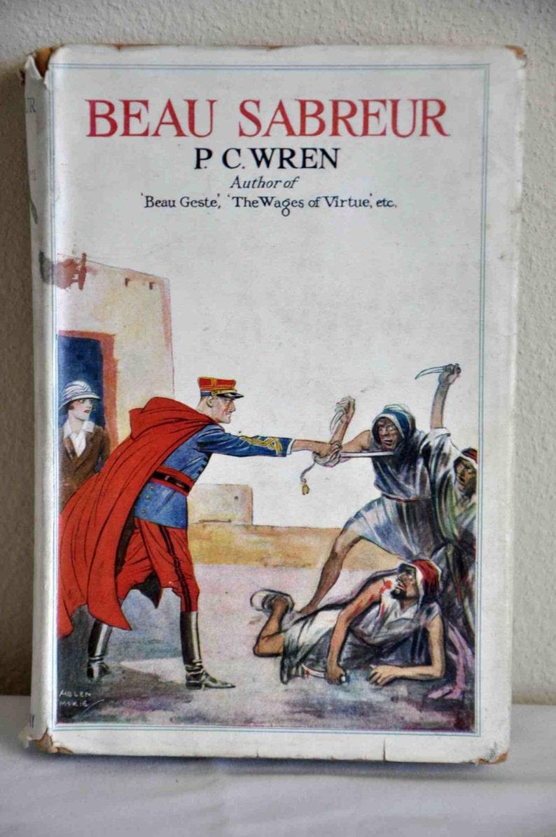 Book: Beau Sabreur by Percival Christopher Wren Published John image 0