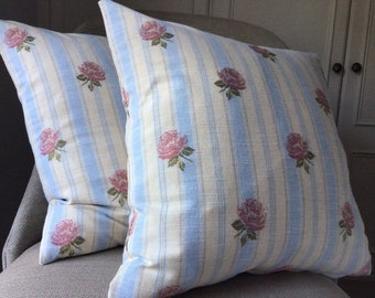 Pink Rose Cushion Covers! X2