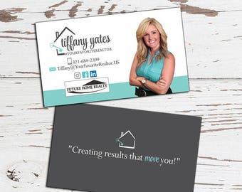 Real estate logo real estate business card design business business card design real estate business card real estate agent business cards made to match your premade or custom logo double sided reheart Image collections