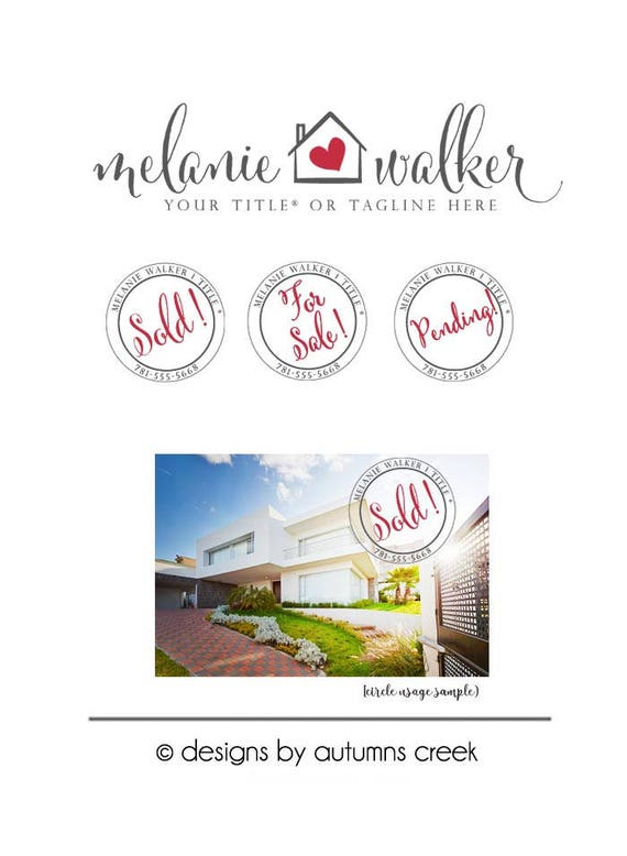 Immobilien Logo Immobilien Logo Logos Fur Haus Logos Realty Etsy