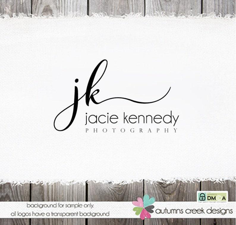 Premade Logo Design Photography Logo Jewelry Logo Real Estate image 1