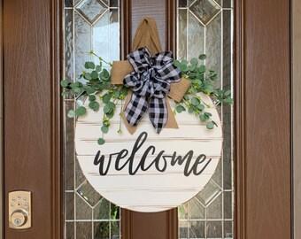 Welcome Sign Front Door | Etsy
