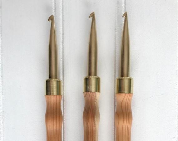 The Irish Hook { Hartman Hook } for Rug Hooking - 8mm Pencil Hook