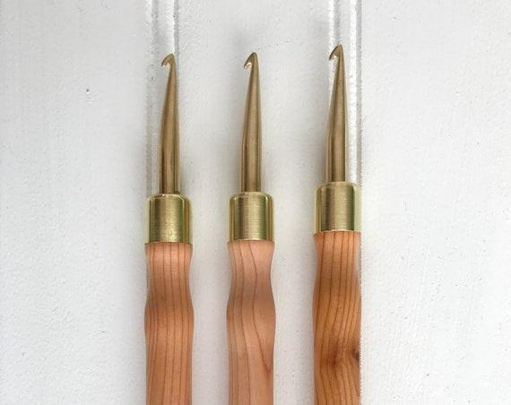 The Irish Hook { Hartman Hook } for Rug Hooking - 6mm Pencil Hook