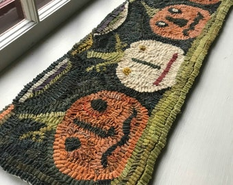 Rug Hooking KIT - A Party at Jack's Place on Linen