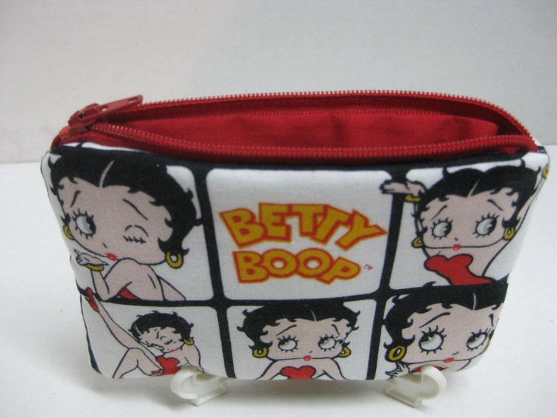 Betty Boop Zipper Women Pouch