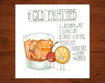 The Old Fashioned Original Painting