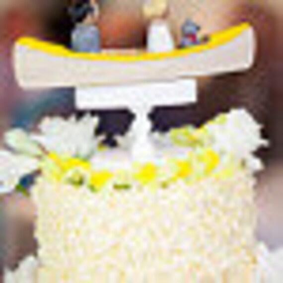 Custom Canoe Cake Topper Custom Topper Outdoor Wedding | Etsy