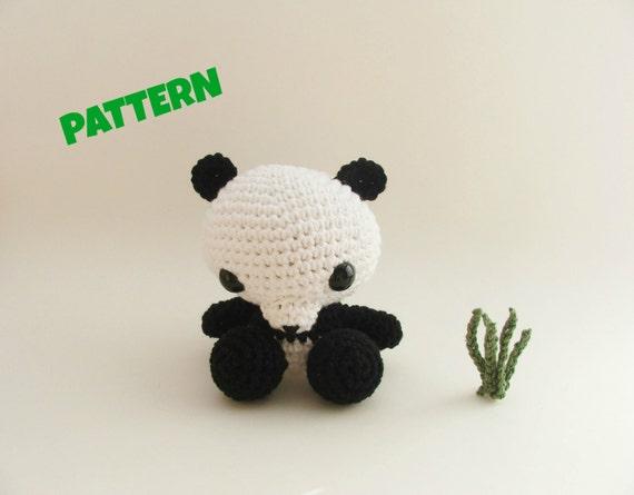 Amigurumi Panda Pattern Crochet Panda Pattern Crochet Doll Etsy