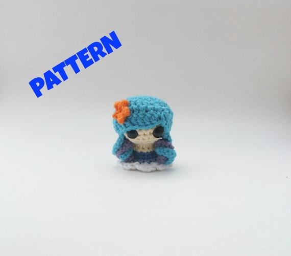 Water Element Doll Pattern Crochet Doll Pattern Amigurumi Etsy
