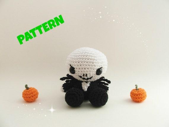 Jack Skellington Free Crochet Pattern • Spin a Yarn Crochet | 427x570