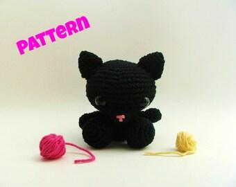 Amigurumi Cat Pattern, Crochet Cat Pattern, Crochet Doll Pattern, Amigurumi Patterns, Amigurumi Doll Pattern, Crochet Amigurumi Pattern