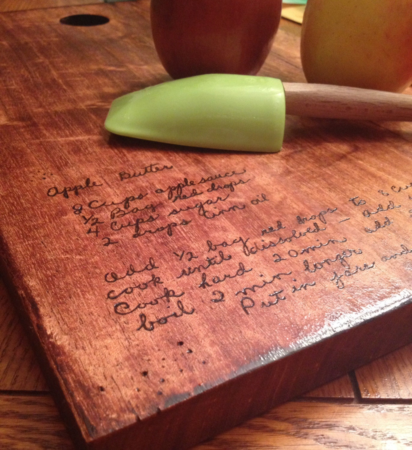 typed recipe cutting board - HD 1372×1500