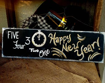 New years signs   Etsy