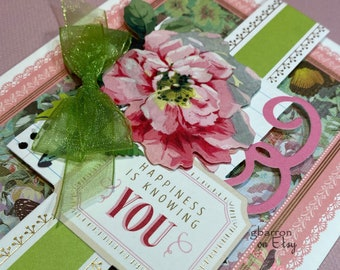 Beautiful Floral Traditional Card 49 Especially for You Anna Griffith