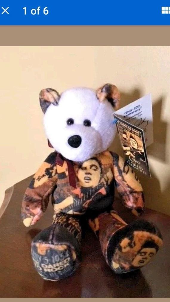 Elvis Presley 50TH Anniversary Limited Edition Beanie Baby.  0911514a74b