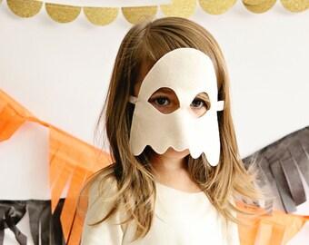 Ghost Mask- CHILD- Halloween