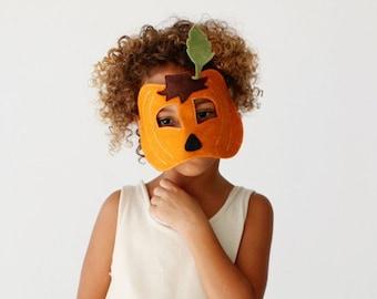 Pumpkin Mask- CHILD- Halloween