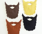 BEARD- Felt Beard- Pretend Play- Dress Up