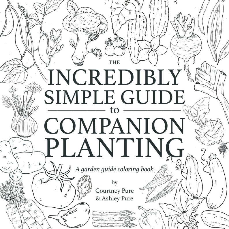 The Incredibly Simple Guide to Companion Planting  Digital image 0