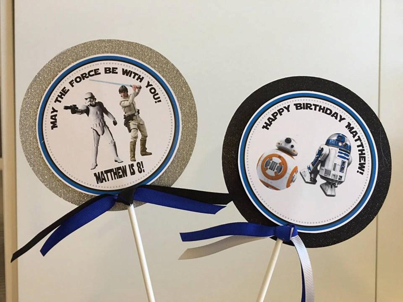 Star Wars Centerpiece Sticks
