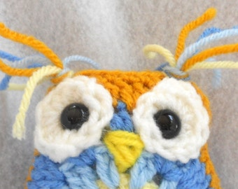 Hoot the crochet owlie