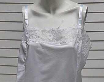 White French Maid Vintage  Nylon Camisole   Size 40 #674