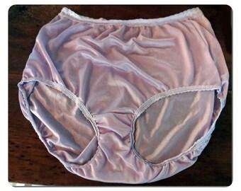 5d4fe71ec Mauve Haines Vintage Nylon Panties Size 9