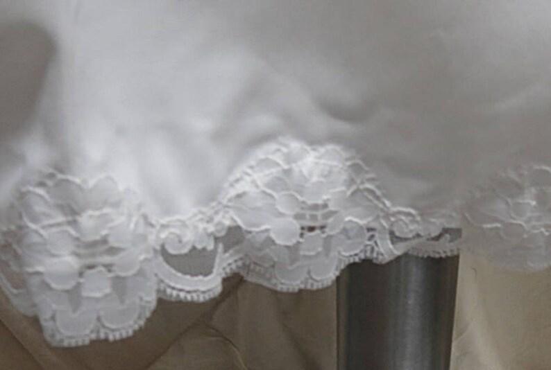 Vintage Nylon White  Full Slip   Size 44