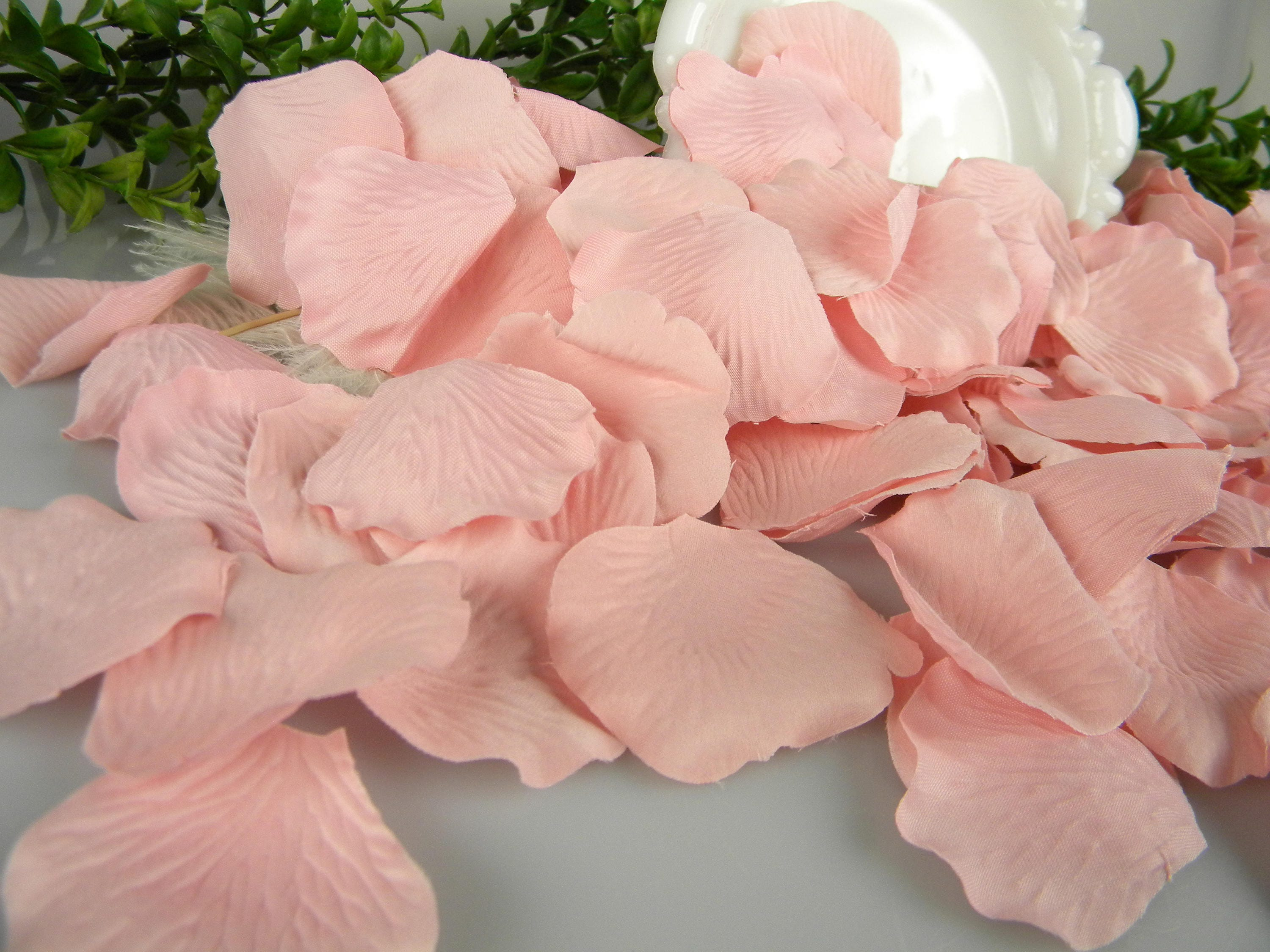 200 Pink Rose Petals Bulk Flower Petals, Artificial, Bridal Baby ...