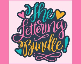 CLEARANCE Sale: The Lettering Bundle