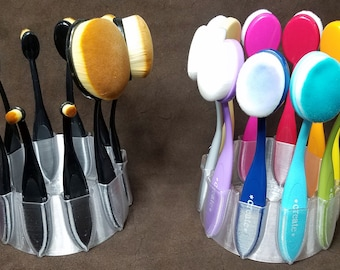 Ring Toss Blender Brush Caddie, Tool Caddy, Mixed Media Caddie
