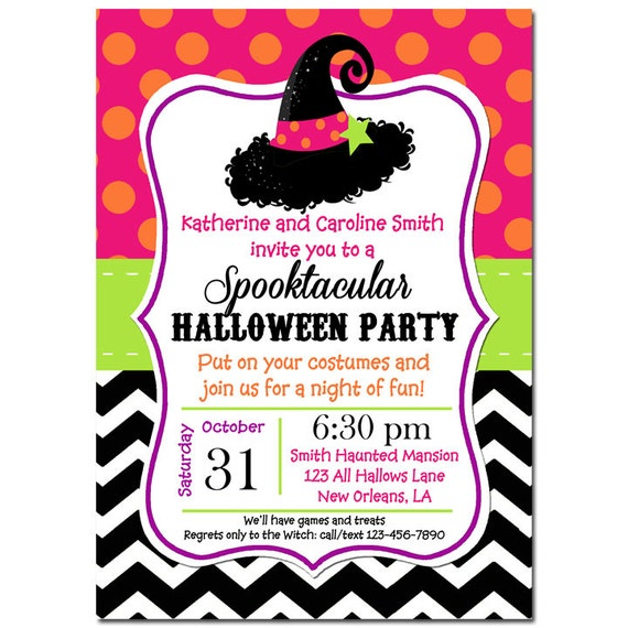 image relating to Free Halloween Invitations Printable referred to as Halloween Invitation Printable or Posted with Absolutely free Transport