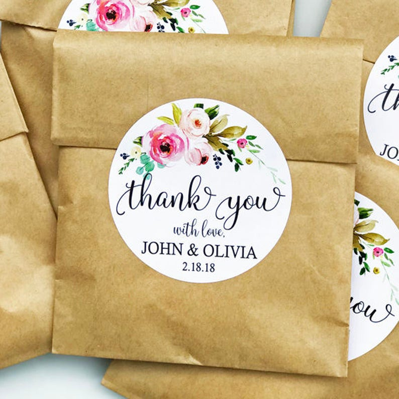 graphic relating to Free Printable Thank You Tags for Favors known as Custom made Thank Yourself Tag, Marriage Tags, Choose Tag Printable or Posted with Free of charge Delivery - Passionate Floral Spray Choice