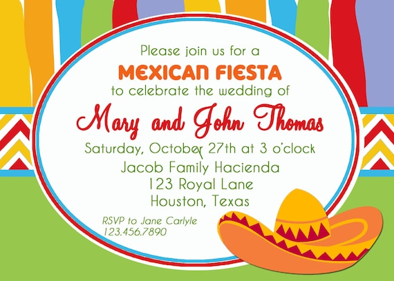 picture about Free Printable Fiesta Invitations named Mexican Fiesta Invitation Printable or Revealed with Totally free