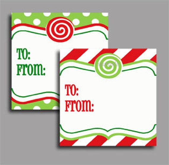 christmas gift tag labels printable printable enclosure etsy