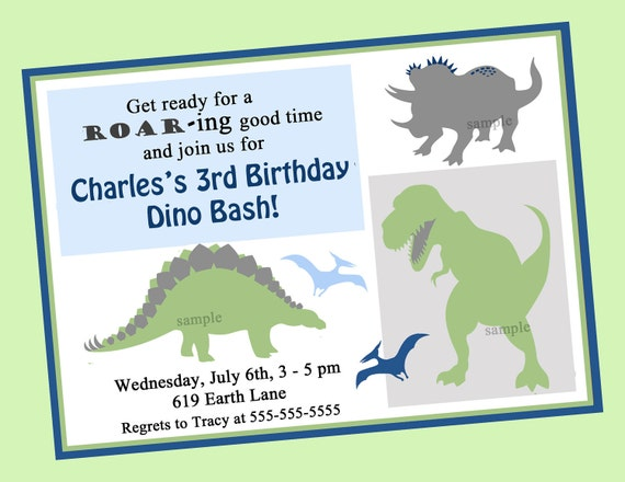 It's just a picture of Dinosaur Party Invitations Free Printable within birthday