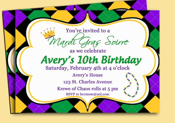 picture relating to Free Printable Mardi Gras Invitations titled Mardi Gras Invitation Printable or Revealed with Absolutely free