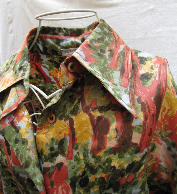 Vintage, Saks Fifth Avenue Union Made, Blouse Fore