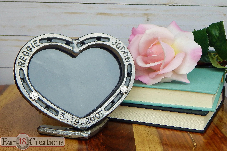 Stahl Hufeisen Herz Geschenk für sie Personalisierte | Etsy