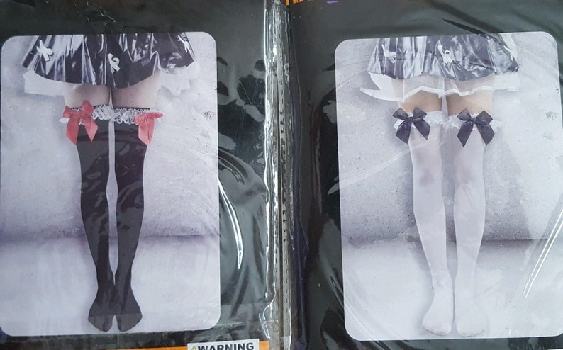 08fdb4d54bc Womens Sexy Thigh Highs Lolita Costume Halloween Tights