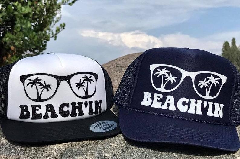 27f3066d2eaa1 Beachin Trucker Hat perfect for beach days summer days lake