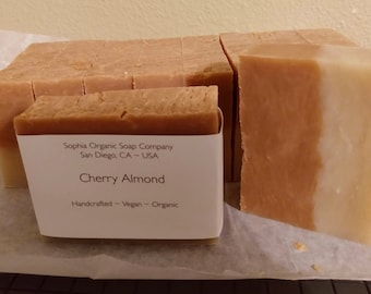 Bulk Lot of 10 Handcrafted Organic Soap Bars - Each 4 oz. ~ Choose Scent