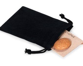 Velvet Drawstring Pouch 3X4 Inch- Choose Color - Set of 10 - Velveteen Pouch Velour Velvet Bag