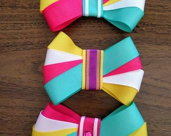Girls Hairbows - Teen Hairbows - Boutique Hairbows - Handmade Custom Designs