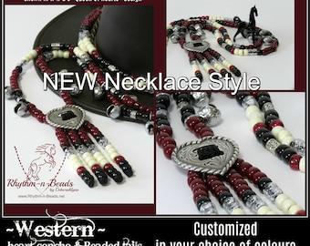 Pick your Colours, CUSTOM Rhythm Beads Necklace,  necklace design styles,beaded horse tack,Horse Wedding Photos,Parade Tack, Rhythm Beads