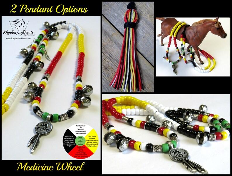 Rhythm Beads for HorsesMEDICINE WHEEL Trail Beads for image 0