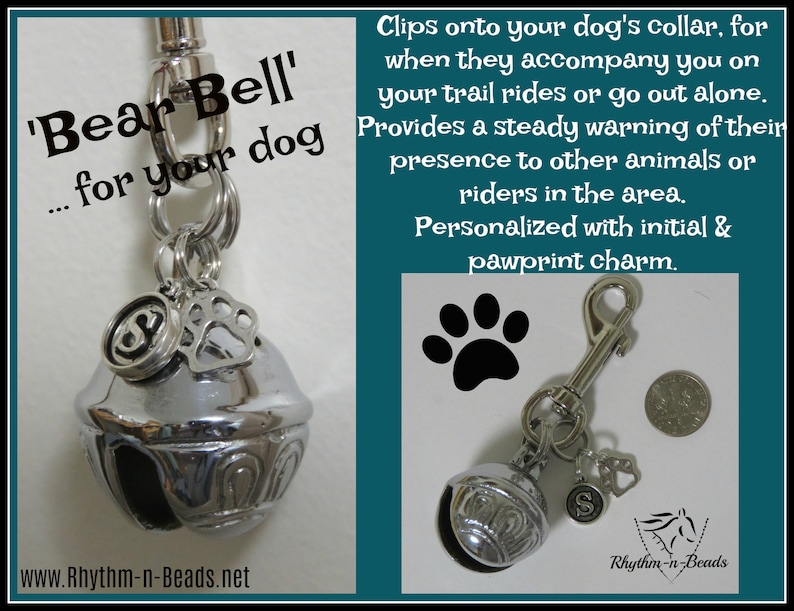 Trail Riding Dog Bell Trail warning bells Trail Bear Bell Trail bell BEAR BELL Horse Lovers Bear Bell for your Dog Hiking Safety