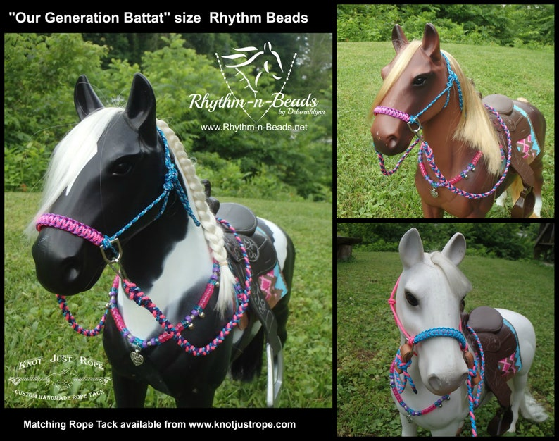 Model Horse Rhythm Beads OUR GENERATION BATTAT American image 0